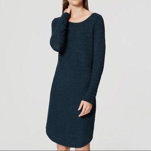 3/$30 - LOFT Textured Sweater Dress